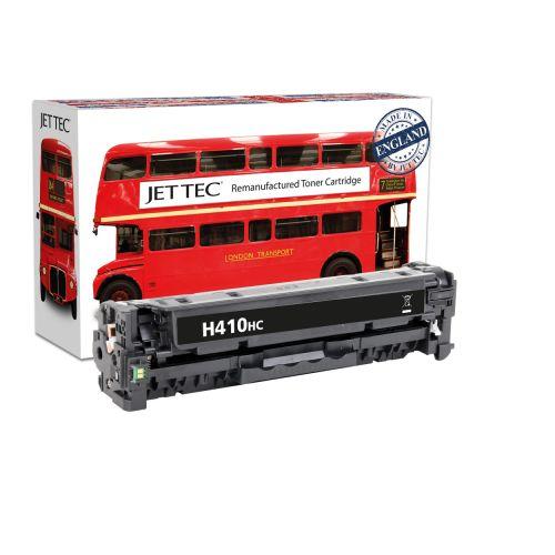 JET TEC Remanufactured HP 305X Laser Toner Cartridge Replaces HP CE410X Black High Capacity