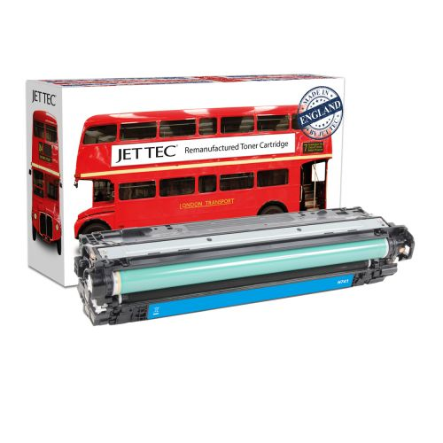 JET TEC Remanufactured HP 307A Laser Toner Cartridge Replaces HP CE741A Cyan
