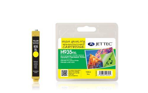 JET TEC Remanufactured Inkjet Cartridge Replaces HP 935YXL HP C2P26AE