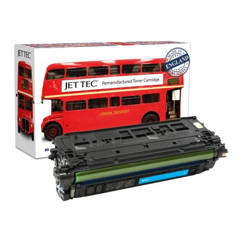 JET TEC Remanufactured HP 508A Laser Toner Cartridge Replaces HP CF361A Cyan