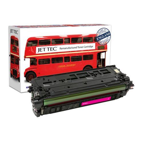 JET TEC Remanufactured HP 508X Laser Toner Cartridge Replaces HP CF363X Magenta High Capacity