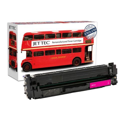 JET TEC Remanufactured HP 410A Laser Toner Cartridge Replaces HP CF413A Magenta