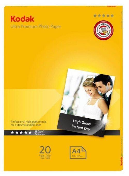 Kodak Ultra Premium Photo Paper Gloss A4 280 - 20 Sheets