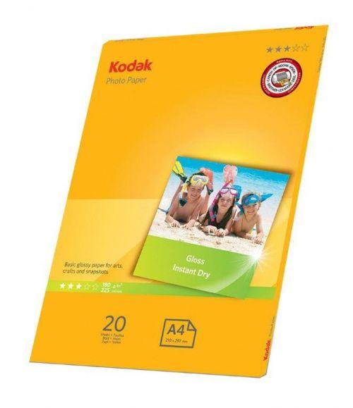 Kodak Photo Paper Gloss A4 180 - 20 Sheets