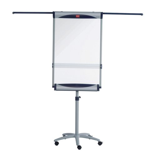 Nobo 1901920 Impression Pro Nano Clean Mobile Flipchart Easel including extendable arms