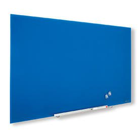 Nobo 1905190 Blue Impression Pro Glass Magnetic Whiteboard 1900x1000mm