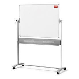 Nobo 1905239 Basic Melamine Mobile Whiteboard 1200 x 900mm
