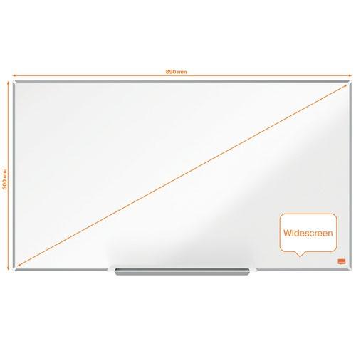 Nobo Impression Pro 890x500mm Widescreen Enamel Magnetic Whiteboard