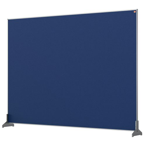 Nobo 1915505 Blue Impression Pro Desk Divider 1400x1000mm