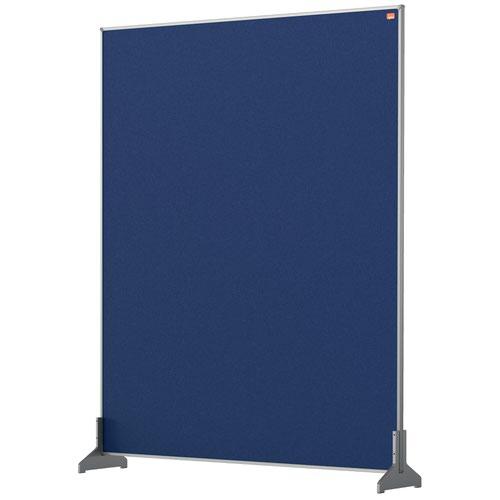 Nobo 1915507 Blue Impression Pro Desk Divider 800x1000mm