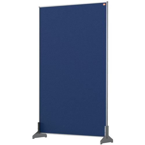 Nobo 1915508 Blue Impression Pro Desk Divider 600x1000mm