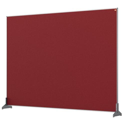 Nobo 1915510 Red Impression Pro Desk Divider 1400x1000mm