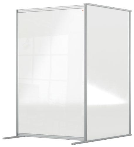 Nobo 1915518 Premium Plus Floor Divider 1200x1800mm Acrylic Extension