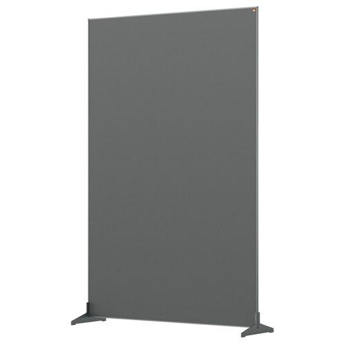 Nobo 1915521 Grey Impression Pro Floor Divider 1200x1800mm