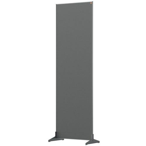 Nobo 1915523 Grey Impression Pro Floor Divider 600x1800mm