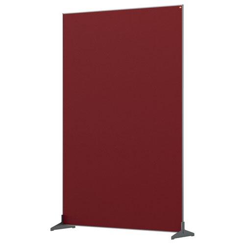 Nobo 1915527 Red Impression Pro Floor Divider 1200x1800mm
