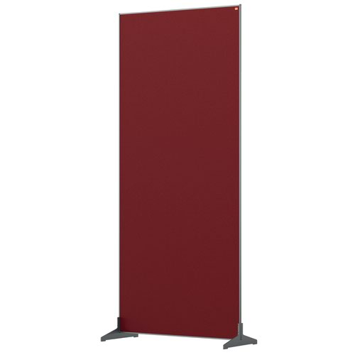 Nobo 1915528 Red Impression Pro Floor Divider 800x1800mm