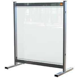 Nobo 1915547 Premium Plus Clear PVC Protective Desk Divider Screen 700x860mm
