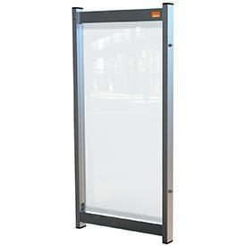 Nobo 1915549 Premium Plus Clear PVC Modular System Desk Divider Screen 400x820mm