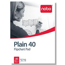 Nobo 34631165 40 Page Flipchart Pad - Pack of 5