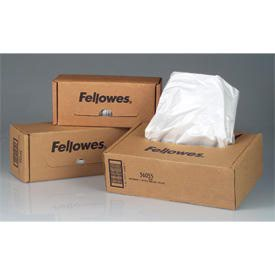 Fellowes 36054 Shredder Bags 50pk