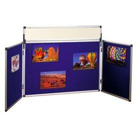 Bi-Office Tabletop Trio Showboard