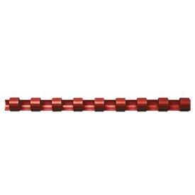 Fellowes 5345603 8mm Red Plastic Comb