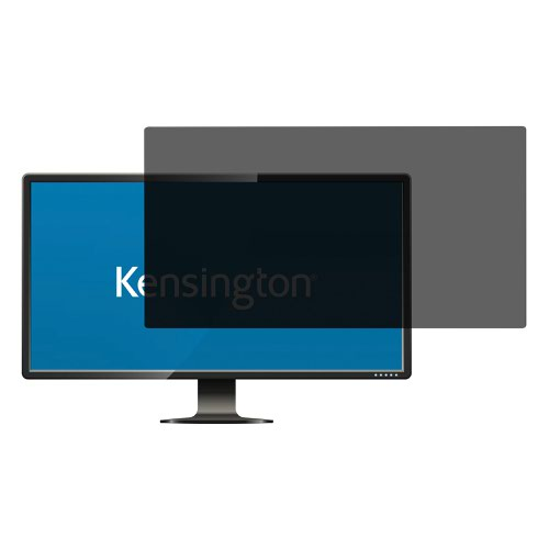 Kensington 626480 Privacy Filter 2 Way Removable 20 inch Widescreen 16:9