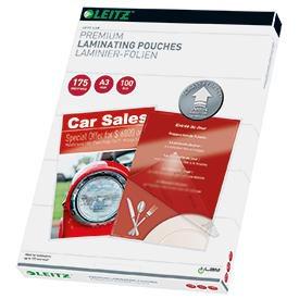 Leitz 74900000 A3 UDT iLAM 2 x 175 Micron Pouch 100Pk