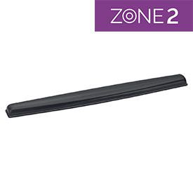 Fellowes 9112201 Crystal Gel Keyboard Wrist Support Black