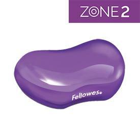 Fellowes 91477-72 Crystal Gel Flex Wrist Rest