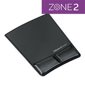 Fellowes 9182301 Crystal Mouse Pad and Wrist Support