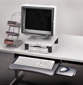 Fellowes 93804 Underdesk Keyboard Manager