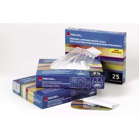 Rexel 40060 40 Litre Small Office Shredder Waste Sacks Pk of 100