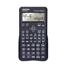Aurora AX-595TV Scientific Calculator Black