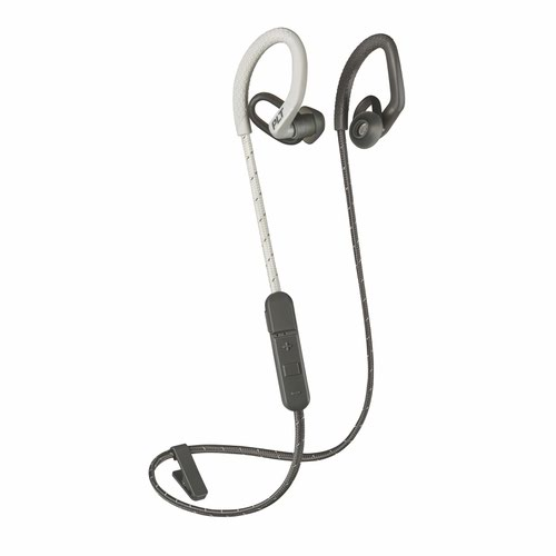 Poly Backbeat Fit 350 Wireless Headset White and Grey