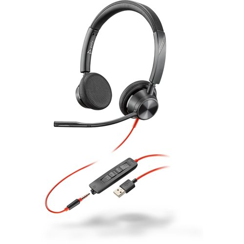 Poly Blackwire 3325 USB-A UC Binaural Headset