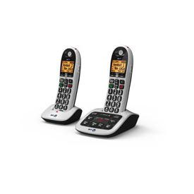 BT BT4600 Twin Big Button Dect Telephone with Answer Machine