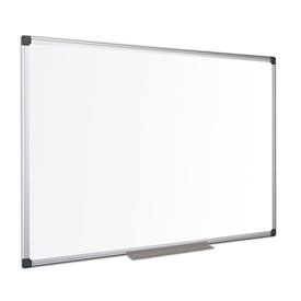 Bi-Office Maya Enamel Aluminium Framed Whiteboard 900x600mm