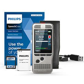 Philips DPM7700 Slide Switch Memo with SpeechExec 11 Transcription Set
