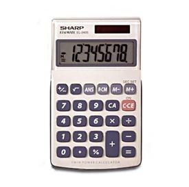 Sharp EL-240SA Handheld Calculator
