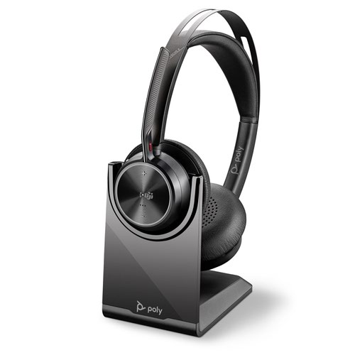 Poly Voyager Focus 2-M USB-C Headset with Stand