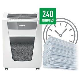 Leitz IQ Office Pro Super Micro Cut Shredder P6