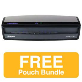 Fellowes Jupiter 2 A3 Laminator and A4 80 mic Pouch Bundle