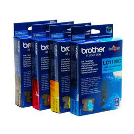 Brother LC1100 Value Pack B-C-M-Y