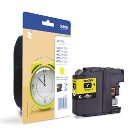 Brother LC125XLY Yellow Cartridge