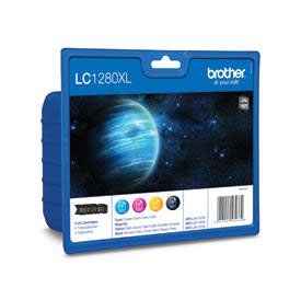 Brother LC1280 Value Pack B-C-M-Y