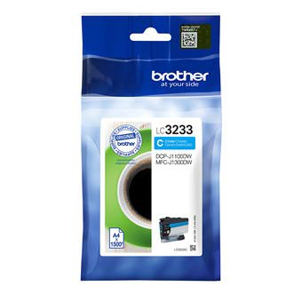 Brother LC3233C Cyan Ink Cartridge 1500 Pages