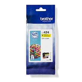 BROTHER LC424Y Yellow Ink Cartridge
