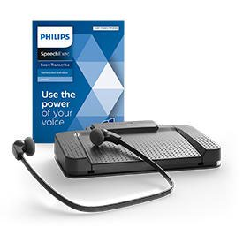 Philips LFH7177 SpeechExec 11 Transcription Kit and Software